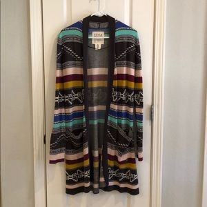 Oversized Billabong Aztec cardigan